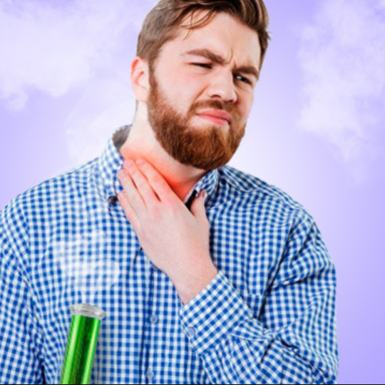 can smoking too much make your throat sore