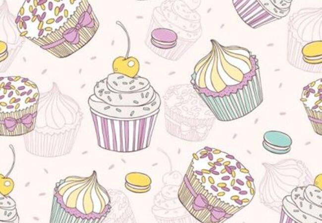 Weed vanilla cupcakes